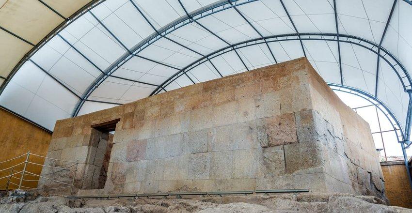 Atahualpa's ransom room