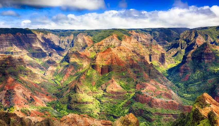 Waimea Canyon, Hawaii