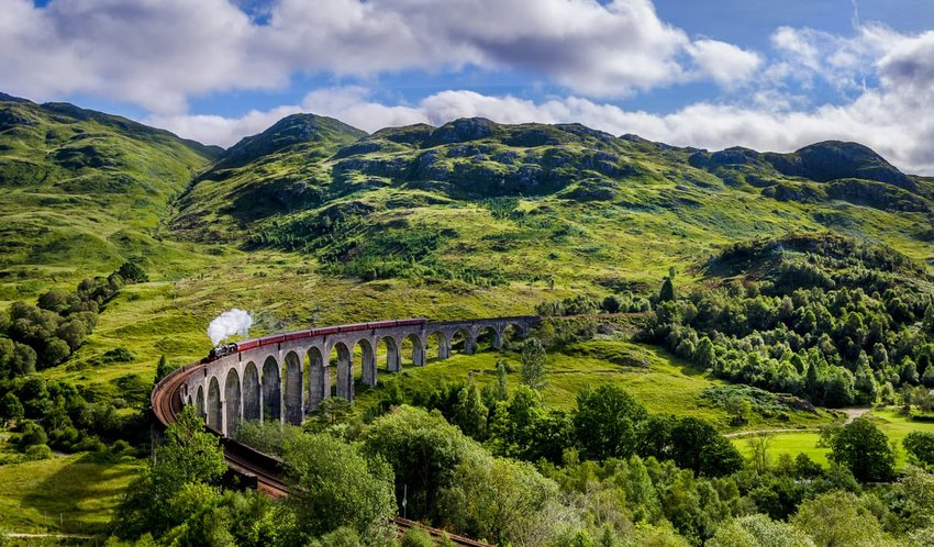 West Highland Line - Glasgow  to Mallaig, Scotland