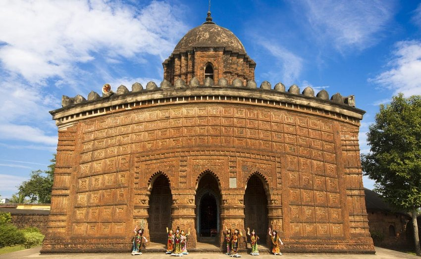 Terracotta Temples - West Bengal, India