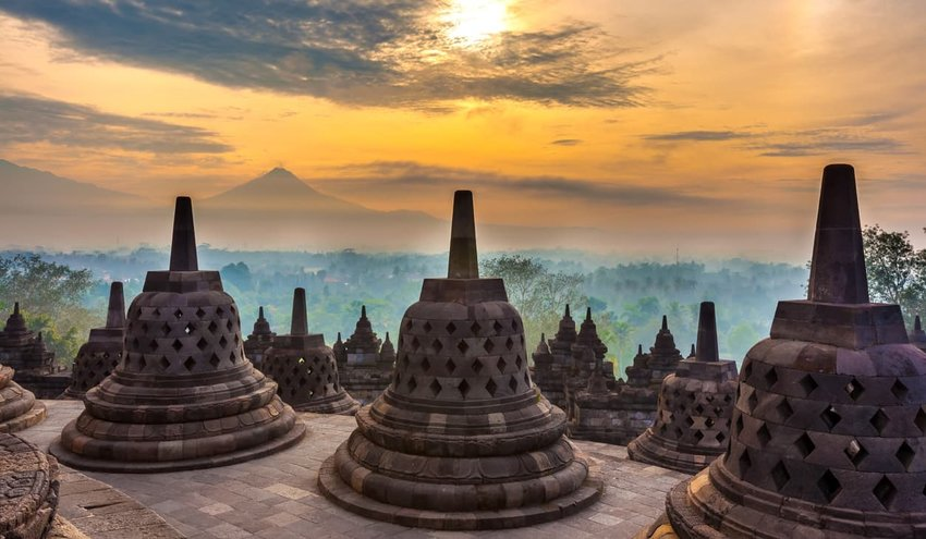 Borobudur - Java, Indonesia