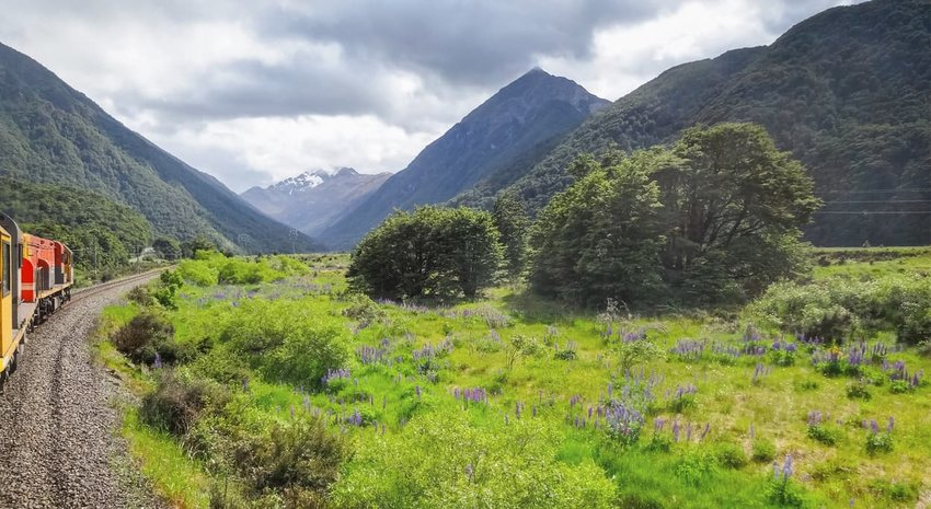 Tranzalpine - Christchurch to Greymouth, New Zealand