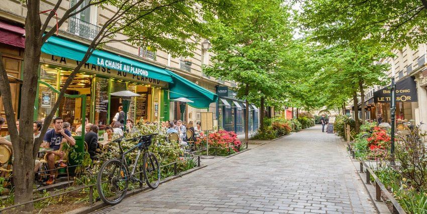 Marais district of Paris