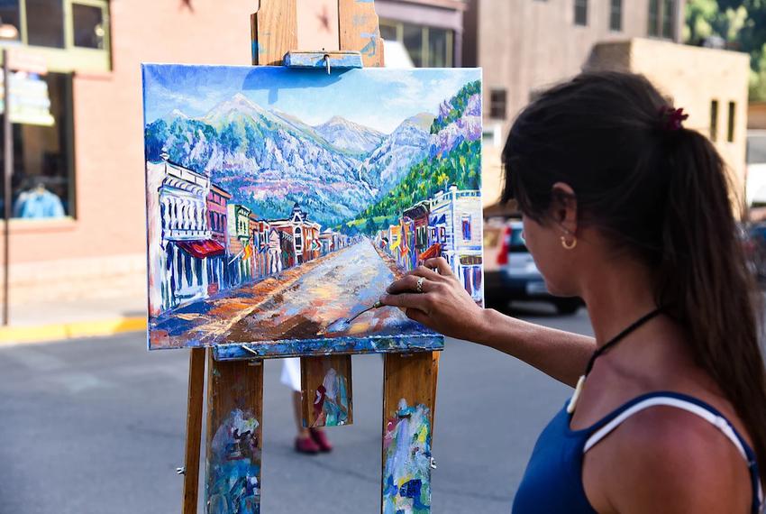 Artist-in-Telluride