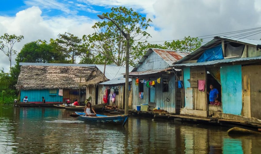 Stilt houses of Belen