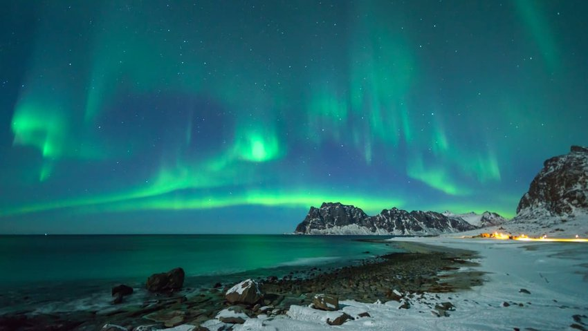 colorful-northern-lights