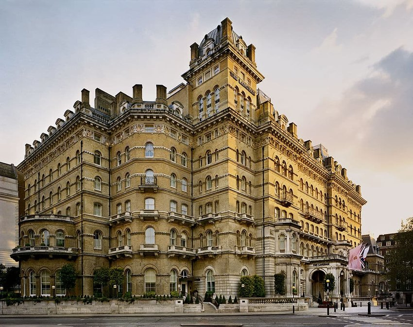 Langham Hotel, London, England