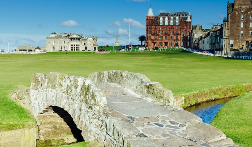 The Old Course, St. Andrews, Scotland
