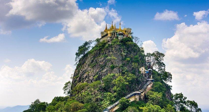 Mount Popa, Myanmar