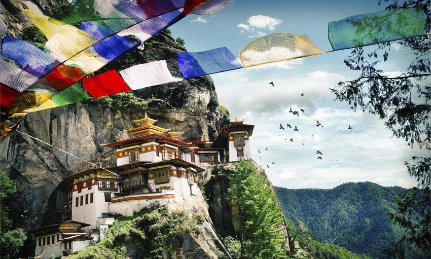 Paro Taktsang Monastery - Paro Valley, Bhutan