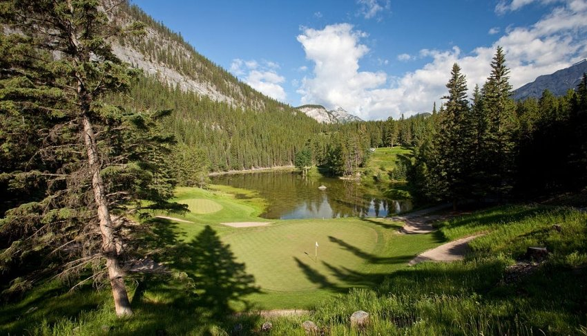 Fairmont Banff Springs Golf Club, Banff, Alberta, Canada
