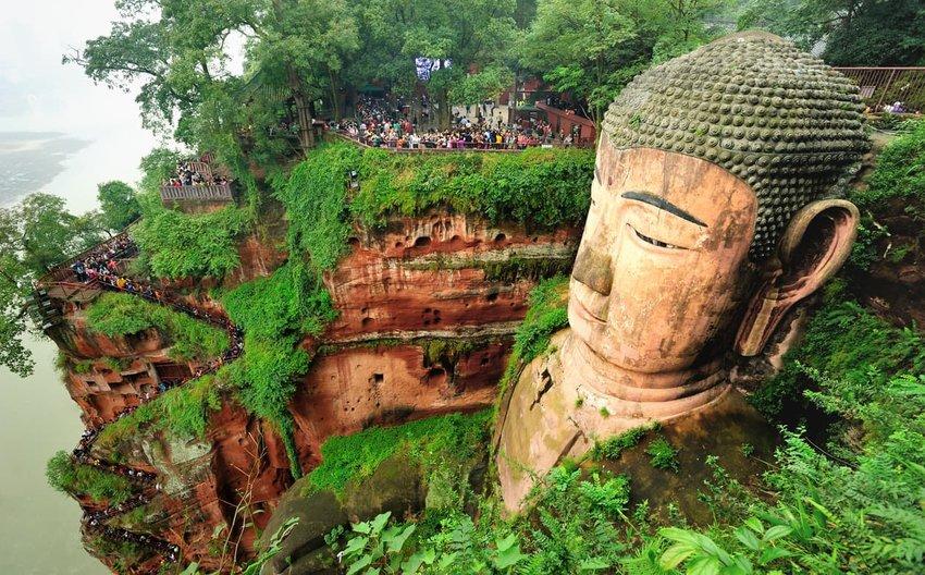 Leshan Giant Buddha, Sichuan Province China