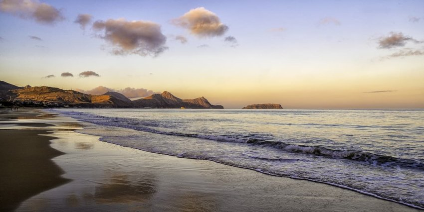 Fontinha Beach, Porto Santo, Portugal