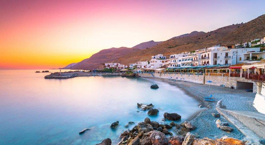 Chora Sfakion, Sfakia, Chania, Crete, Greece