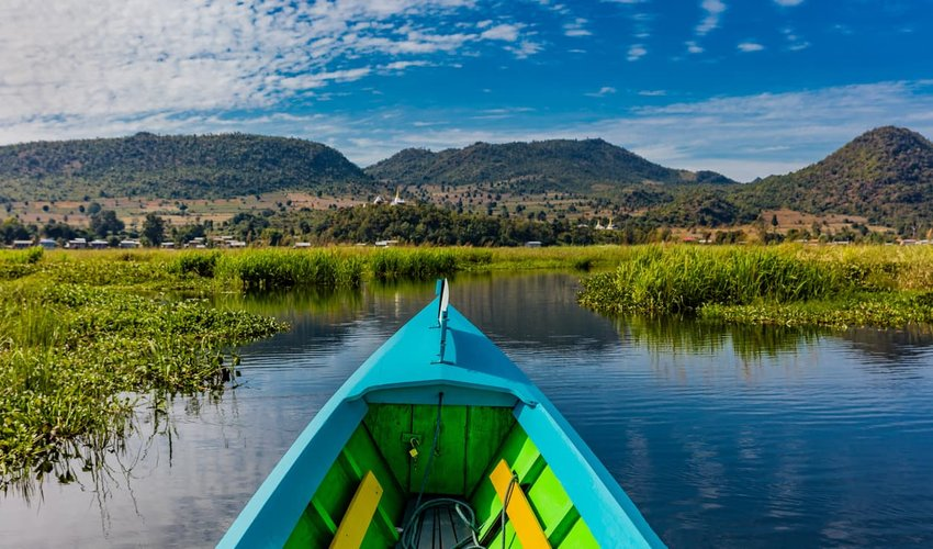Kalaw to Inle Lake, Myanmar