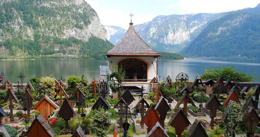 Katholische Pfarre Hallstatt, Austria