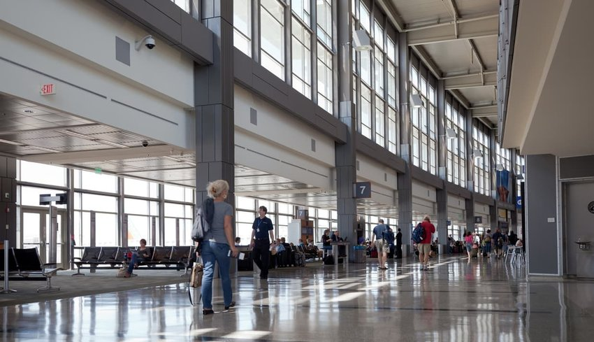 Austin Bergstrom Airport interior