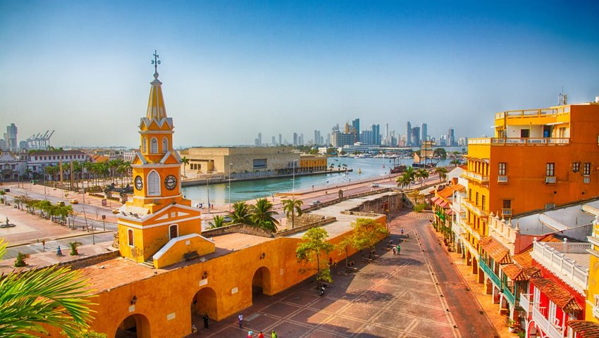 Clock Tower Gate, Cartagena, Colombia