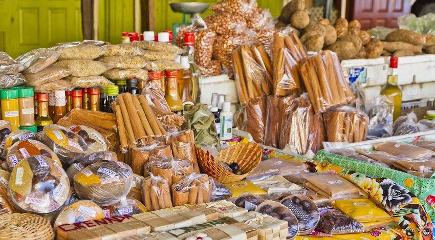 St. George's Market, Grenada W.I.