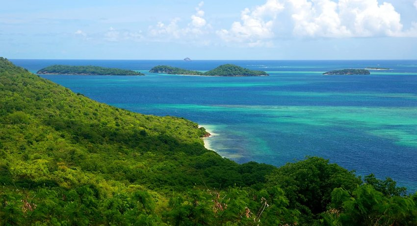 The Grenadines Islands Caribbean Island Chain