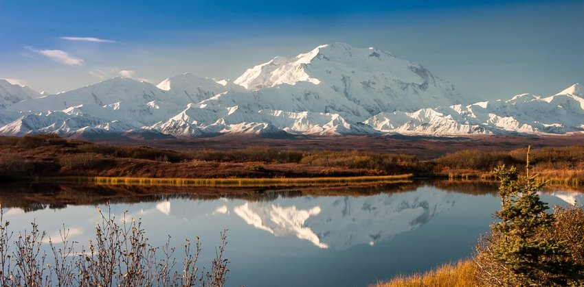 Denali mountain, Alaska