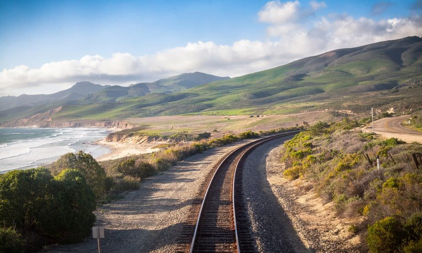Railroad, Central California Coast