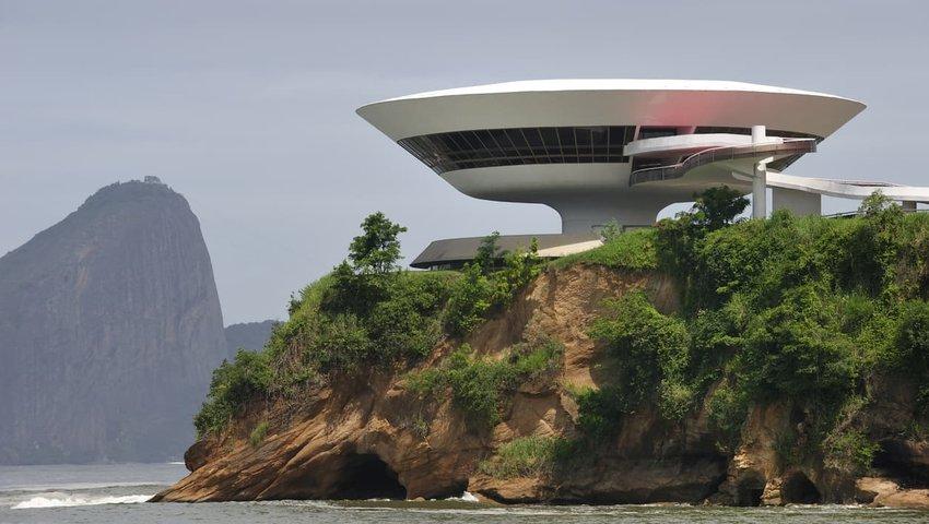 Niterói Contemporary Art Museum — Rio de Janeiro, Brazil