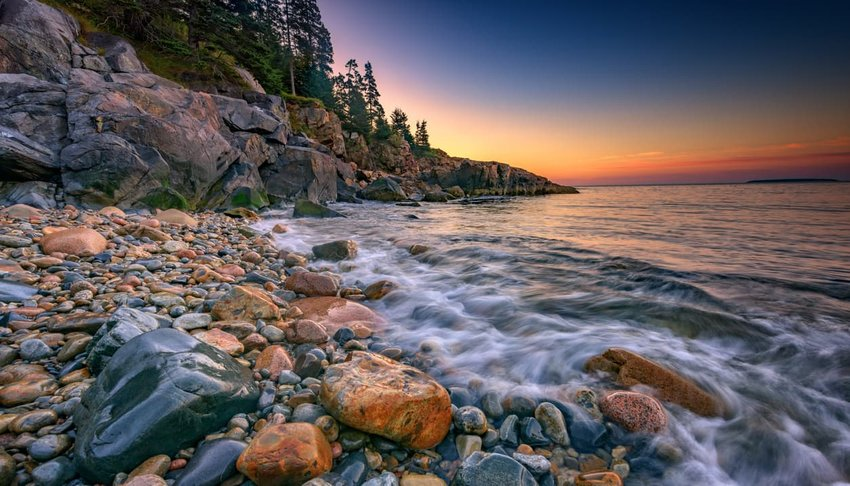 Little Hunter's Beach, Maine