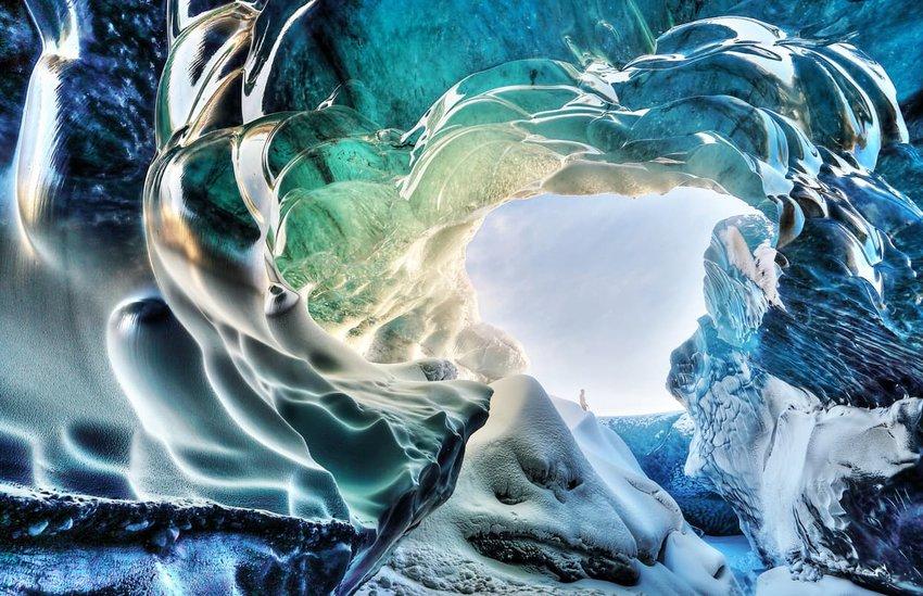 Stunning Ice Caves From Around The World