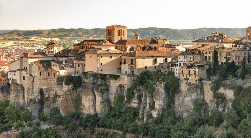 Cuenca, Spain, casas colgadas