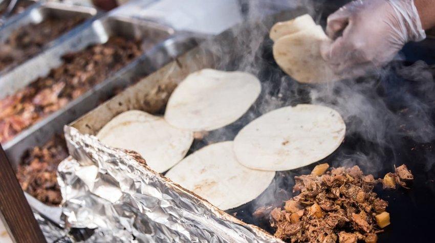street tacos, mexico city