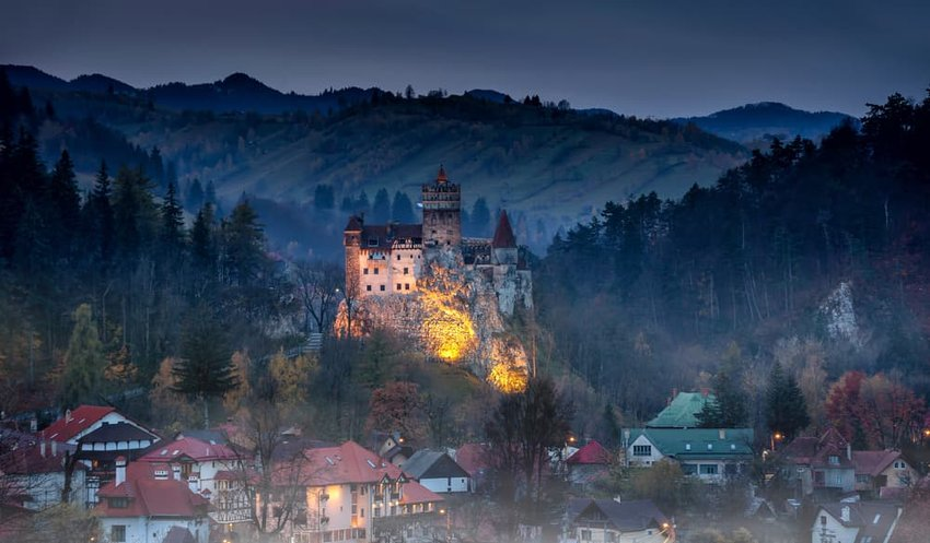 Bran castle Dracula castle in Transilvania, Romania
