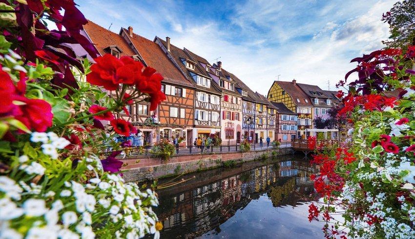 Colmar Petite Venice Alsace France
