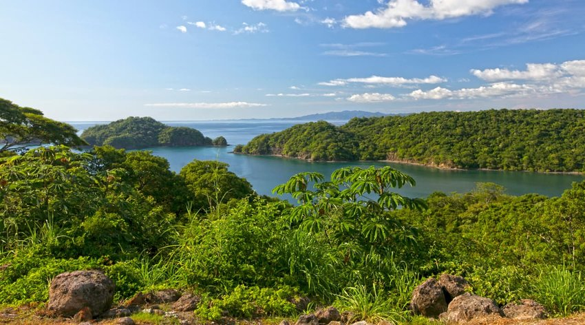 View of Papagayo Bay, Costa Rica