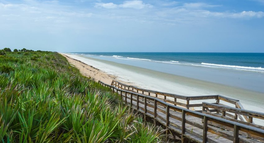 Florida Beach at Canaveral National Seashore