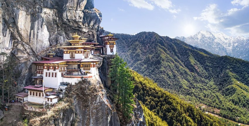 Taktshang Goemba or Tiger's nest Temple, Bhutan