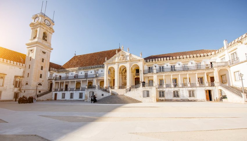 Coimbra city in Portugal