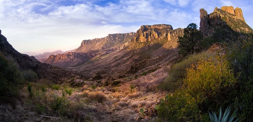 Stunning sunrise in Big Bend National Park