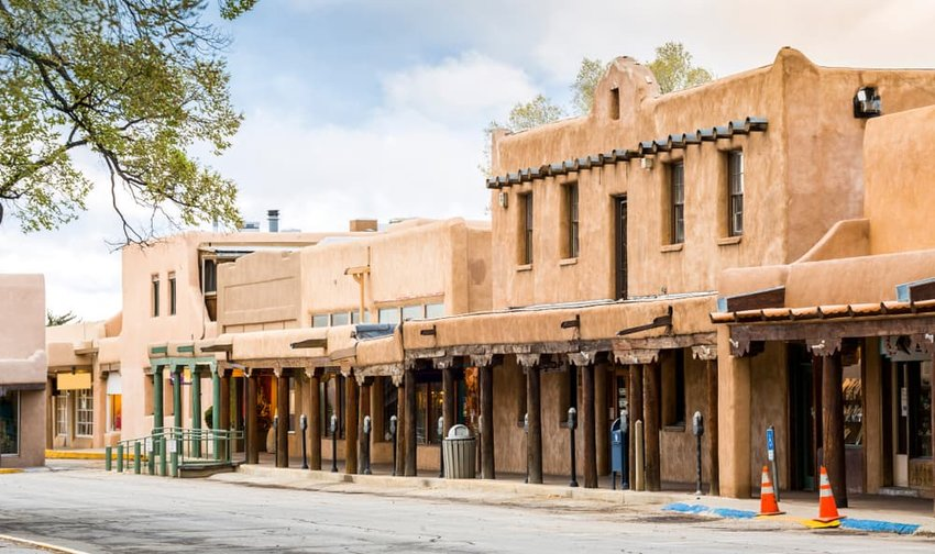 buildings in Taos, New Mexico