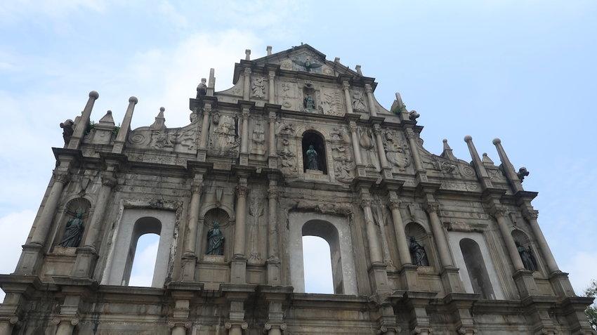 Macau-Ruins