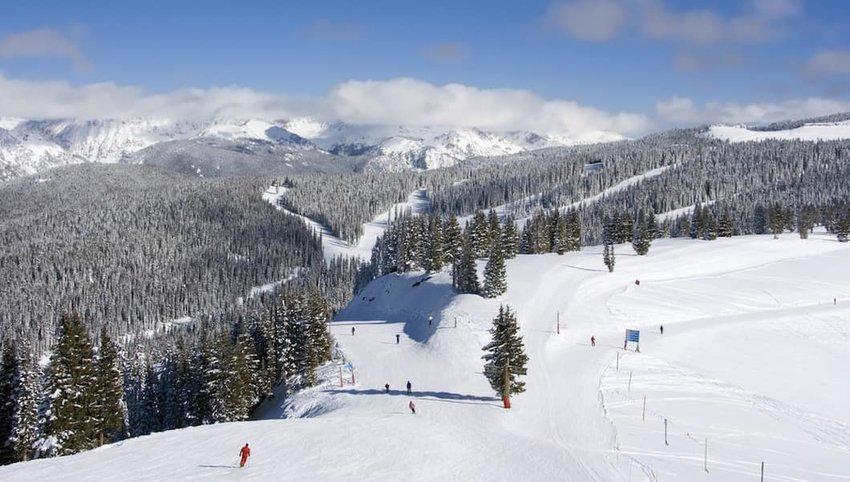 Vail--Colorado-skiers