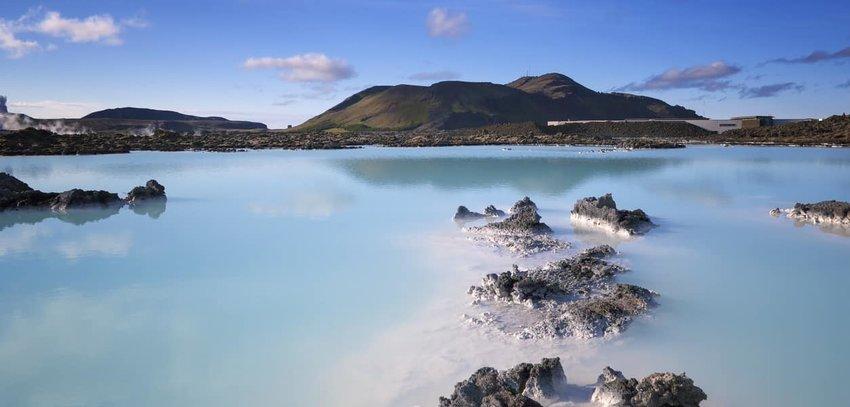 Blue Lagoon in Reykjavik, Iceland