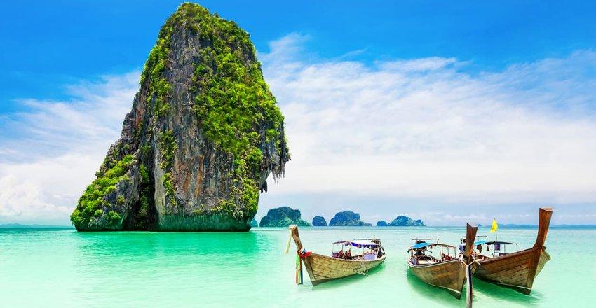 Limestone karst, Phuket, Thailand