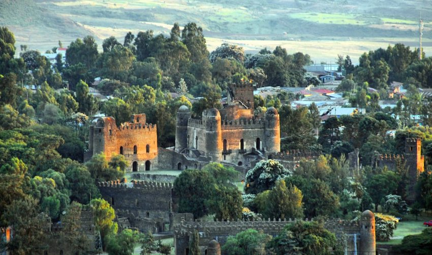 Gondar, Ethiopia, Fasil Ghebbi, UNESCO World Heritage Site