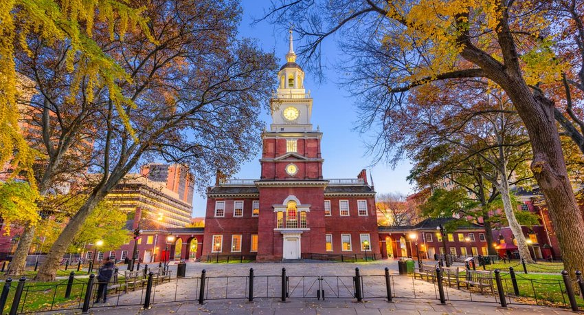 Independence Hall of Philadelphia