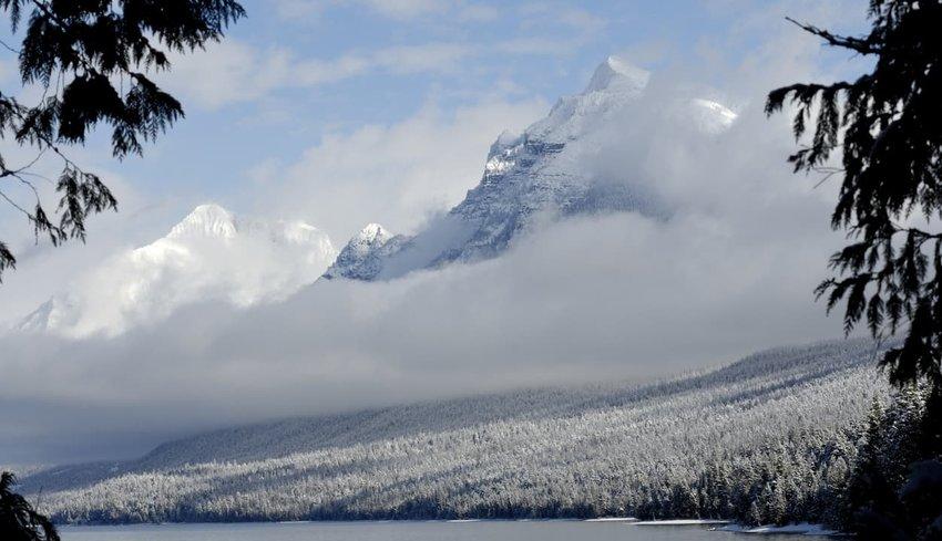 Mount Brown and Lake Mcdonald