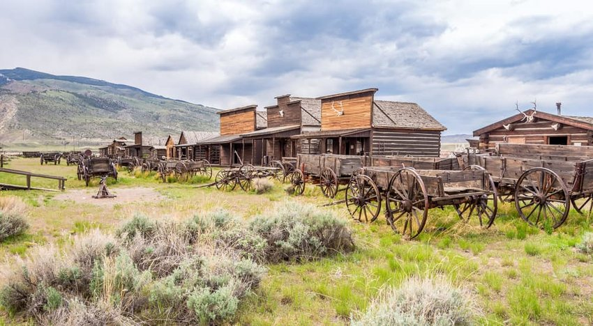 Old Trail Town is a collection of historic western buildings, Cody, Wyoming