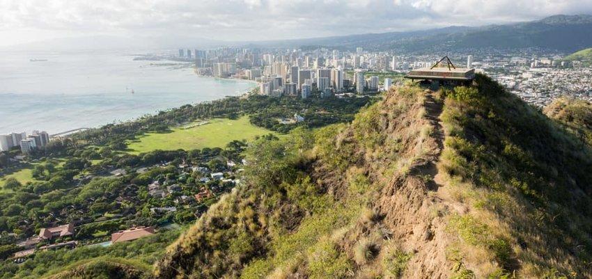 Waikiki Skyline View