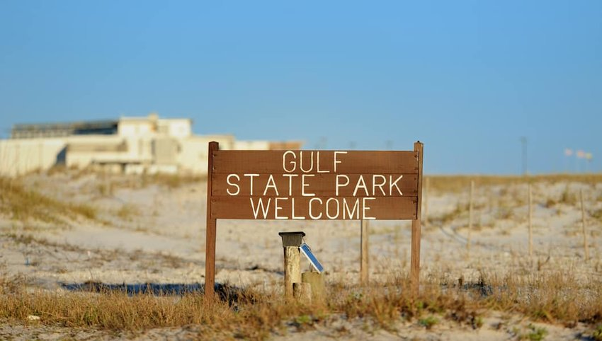 Gulf-State-Park-welcome-sign