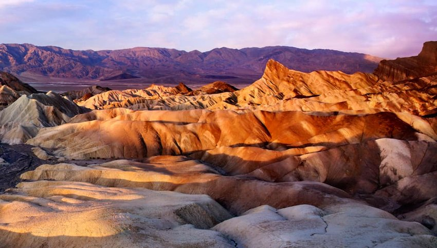 Photo of rocks in Death Valley National Park